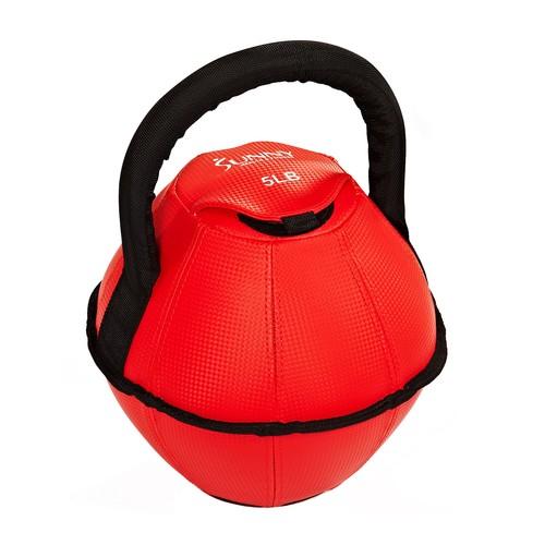 Sunny Health \u0026 Fitness 5-lb Soft Kettlebell