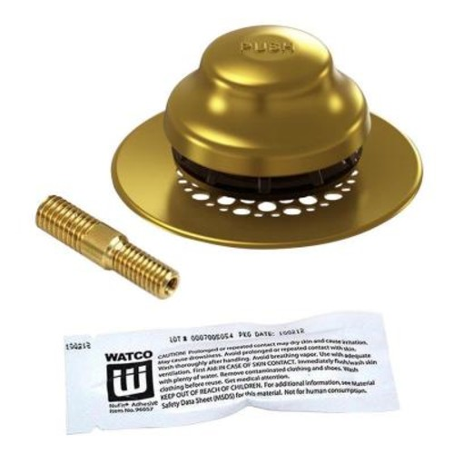 Watco UnivNuFit-FA-Silicone and Combo Pin, Polished Brass