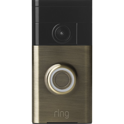 Ring Video Doorbell (Antique Brass)