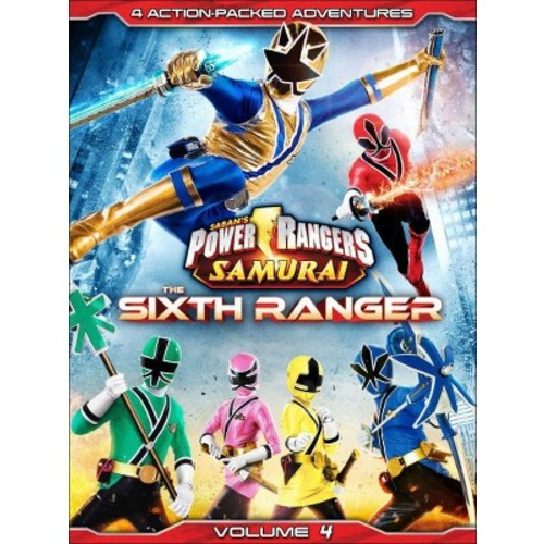 Power Rangers Samurai: The Sixth Ranger Vol. 4 (DVD)