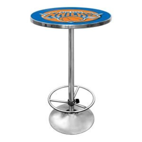 Trademark NBA New York Knicks Chrome Pub/Bar Table