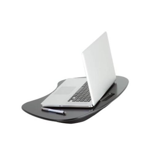 Honey Can Do Solid MDF Portable Lap Desk, Black
