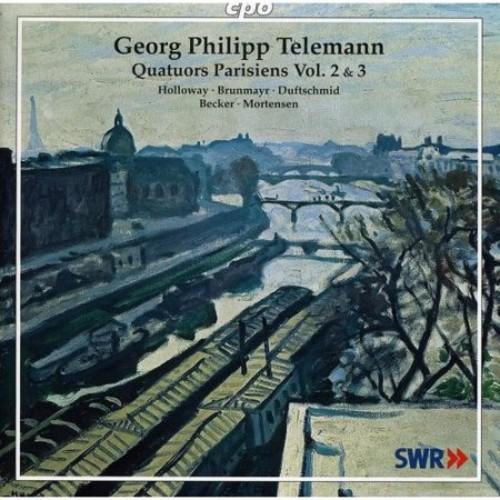 Quatuors Parisiens 2 & 3 - CD