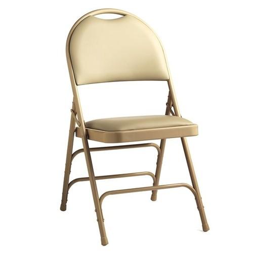 Samsonite Comfort Series Steel & Vinyl Folding Chair (Case/4)