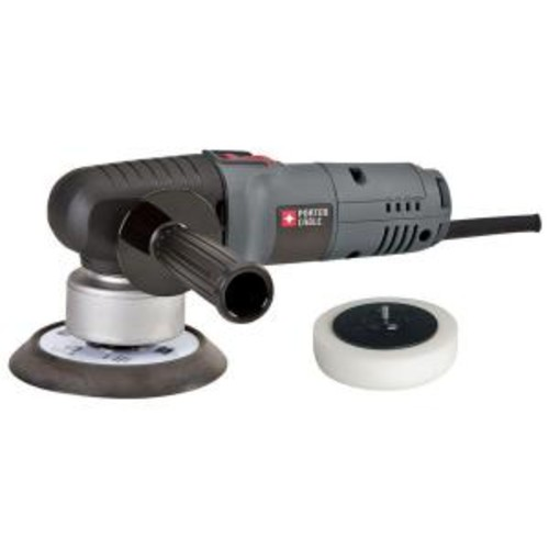 Porter-Cable 4.5 Amp Corded 6 in. Variable Speed Random Orbital Sander with Polishing Pad