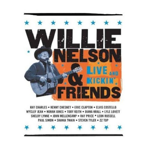 Willie Nelson And Friends - Live & Kickin' (DVD)