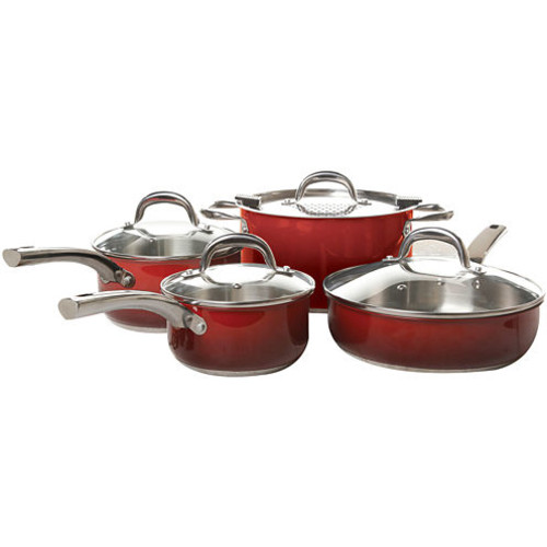 Simplemente Delicioso Arte Gourmet 8 pc Stainless Steel Cookware Set