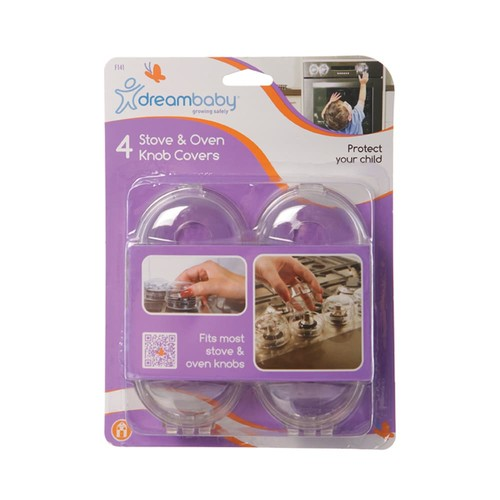 Dreambaby 4-pk. Stove Knob Covers