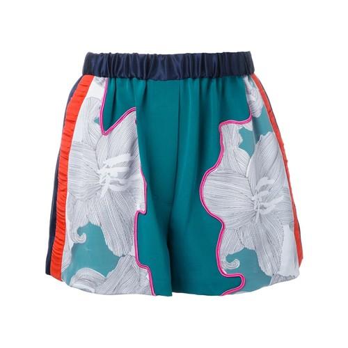 3.1 PHILLIP LIM Floral Satin Shorts