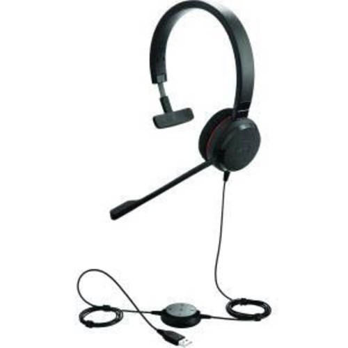 Jabra Jabra Evolve 30 II MS Mono On-Ear Professional Headset with Noise Canceling Microphone, Black