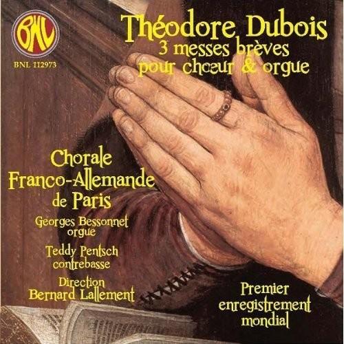 Dubois:3 Short Masses For Choir Org CD (2013)