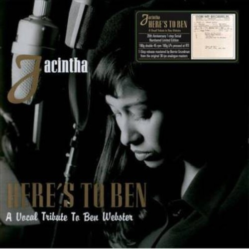 Jacintha - Here's To Ben (20th Anniversary) (Vinyl)