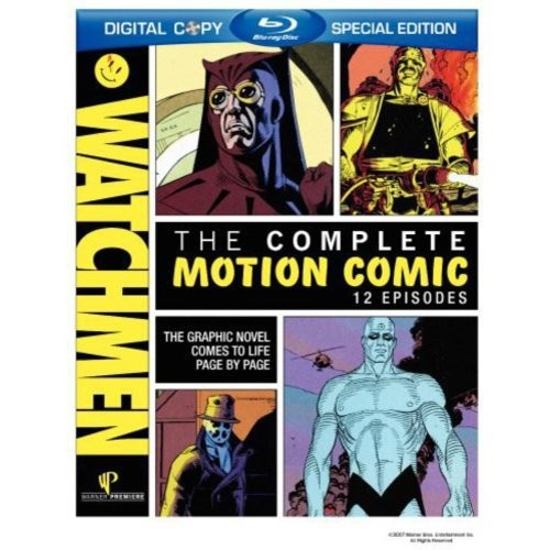 Watchmen: The Complete Motion Comic [2 Discs] [Blu-ray]