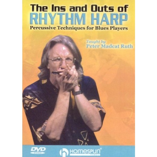 Ins and outs of rhythm harp (DVD)