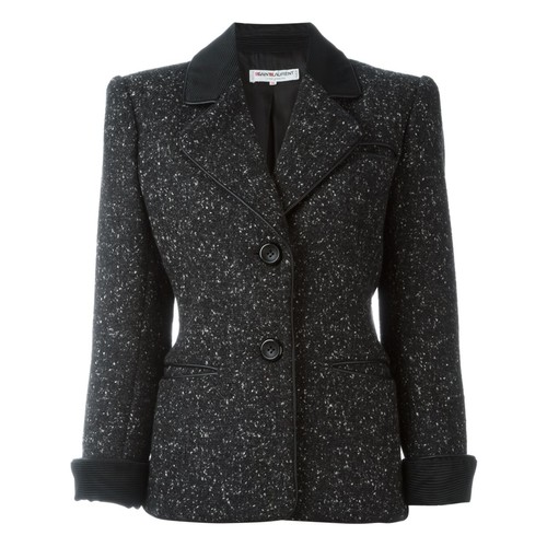 YVES SAINT LAURENT VINTAGE Bouclé Jacket
