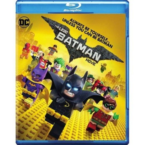 The LEGO Batman Movie Blu-Ray Combo Pack (Blu-Ray/DVD/Digital HD)