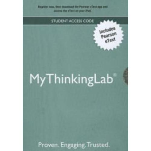 MyThinkingLab -- ValuePack Access Card / Edition 1