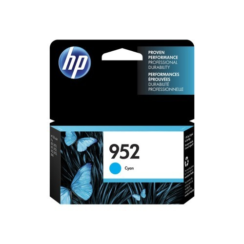 HP Inc. 952 - Cyan - original - blister - ink cartridge - for Officejet Pro 7720, 7730, 7740, 8210, 8710, 8715, 8720, 8725, 8728, 8730, 8740, 8745 (L0S49AN#140)