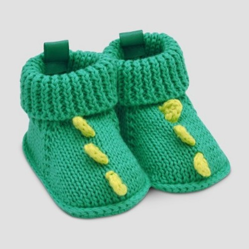 Baby Boys' Dino Slipper - Just One You Made by Carter's Blue/Green NB