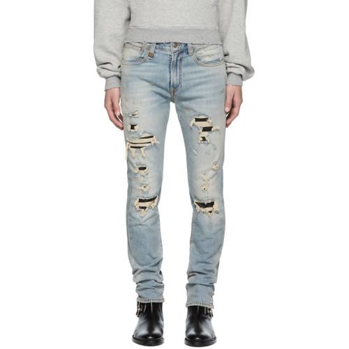 R13 Blue Skate Jeans
