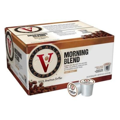 Victor Allens Morning Blend Coffee (80 Single Serve Cups per Case)