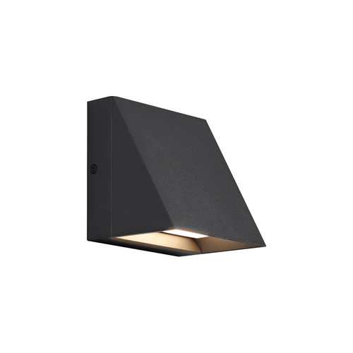 Pitch Single Wall Light [Finish : Black; Lam Type : LED 80 CRI 3000K 120V]