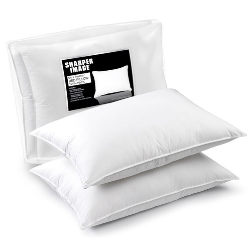 Sharper Image 2-pack 370 Thread Count Ultra Feather Pillow