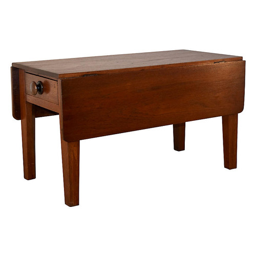 19th-C. Chestnut Coffee Table