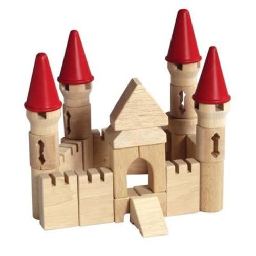 Guidecraft Castle Tabletop Wooden Blocks
