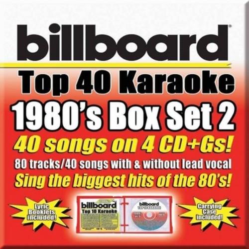 Various - Billboard 1980's Top 40 Karaoke Box S (CD)