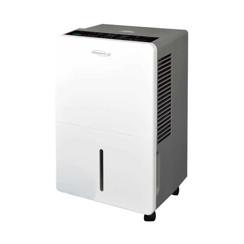 Soleus Air - 45-Pint Portable Dehumidifier - Gray/white