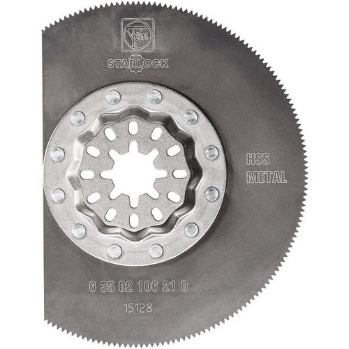 Fein 63502106210 Starlock High Speed Steel Segment Saw Blade, 3-3/8
