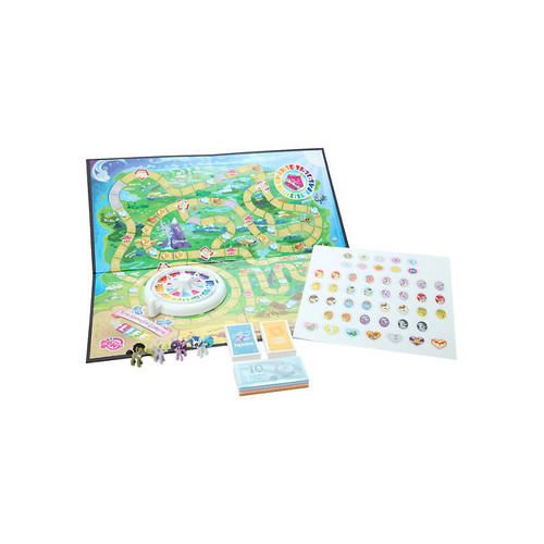 The Game Of Life My Little Pony Board Game