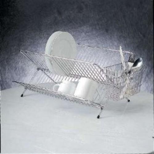 Compact Folding Dish Rack