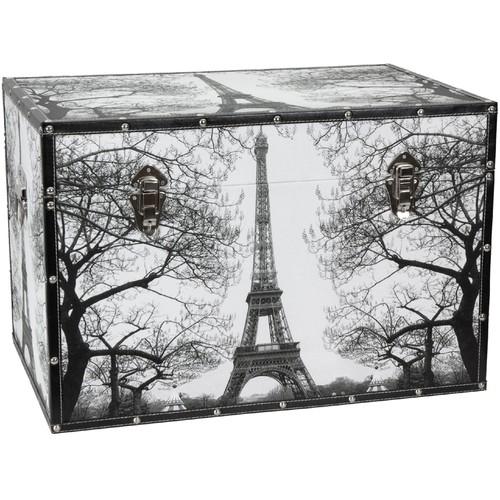 Oriental Furniture Paris Storage Trunk