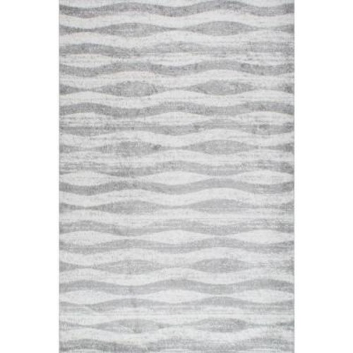 nuLOOM Tristan Grey 8 ft. 2 in. x 11 ft. 6 in. Area Rug