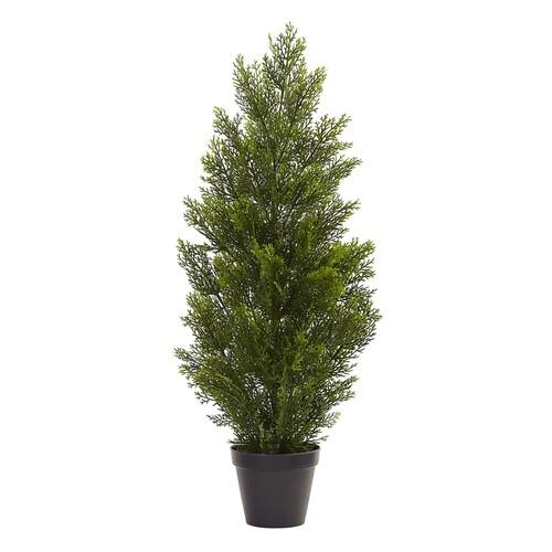 nearly natural 3-ft. Indoor / Outdoor Mini Artificial Cedar Tree