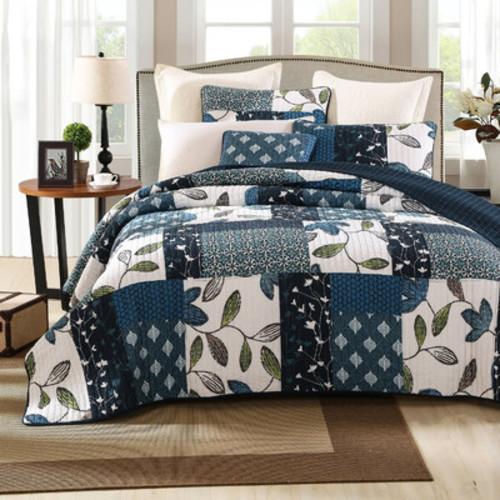 Nightfall Gardenia Quilt Set