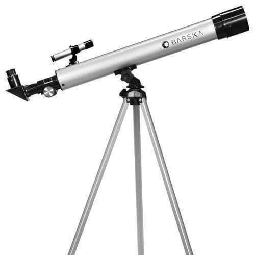 BARSKA AE10748 Barska 450 Power 60050 Starwatcher Refractor PH Silver Astronomy Software