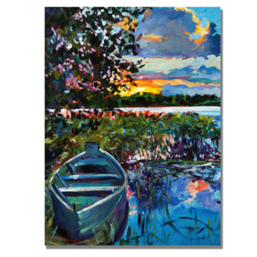 'Days End' by David Lloyd Glover Painting Print on Canvas