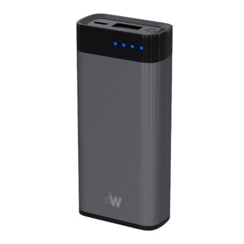 Portable Power Bank 4000 mAh Space Gray - Just Wireless
