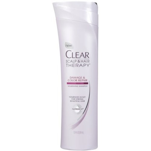 Clear Scalp & Hair Therapy Damage & Color Repair Nourishing Shampoo 12.90 oz (Pack of 6)
