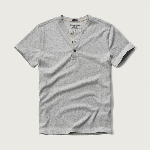 Abercrombie & Fitch Linen Henley