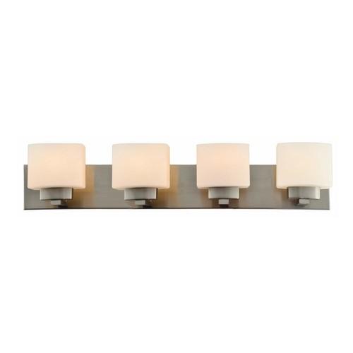 Design House Dove Creek 4-Light Satin Nickel Bath Light