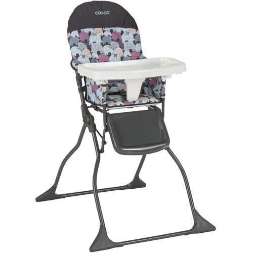 Cosco Simple Fold High Chair - Elephant Puzzle