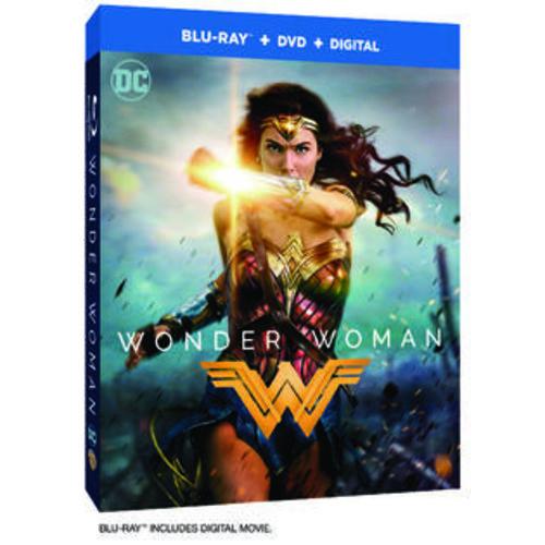 Warner Home Video,DC Comics Wonder Woman Blu-Ray Combo Pack (Blu-Ray/DVD/Digital HD)