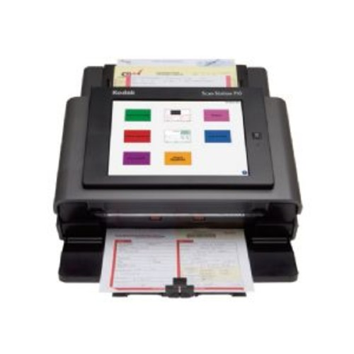 Kodak Scan Station 710 - Document scanner - Duplex - 8.5 in x 34 in - 600 dpi x 600 dpi - up to 70 ppm (mono) / up to 70 ppm (color) - ADF ( 75 sheets ) - up to 6000 scans per day - Gigabit LAN
