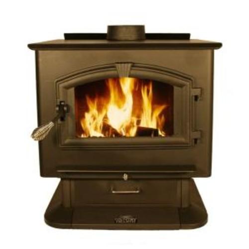 US Stove 3,000 sq. ft. EPA Certified Wood-Burning Stove