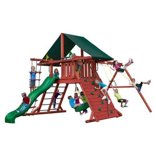 Gorilla Playsets Sun Climber I BR Cedar Swing Set