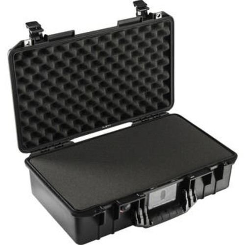 1525 AirTP Carry-On Case (Black, with Pick-N-Pluck Foam)